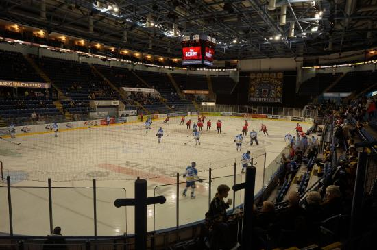 National Ice Centre and Motorpoint Arena Nottingham: Partido de los Panthers