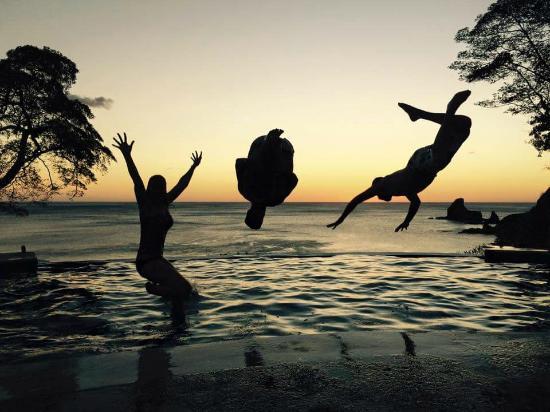 Villas Playa Maderas: friends