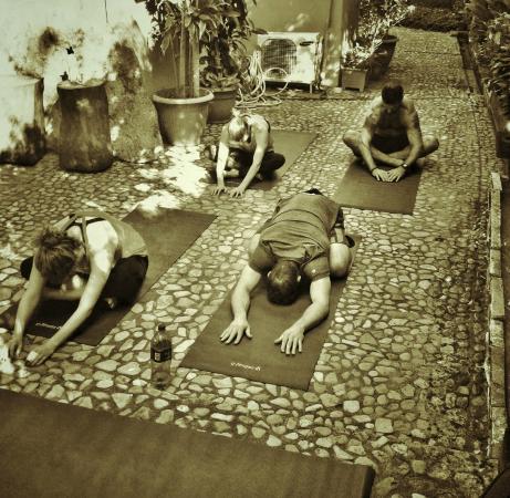Villas Playa Maderas: yoga