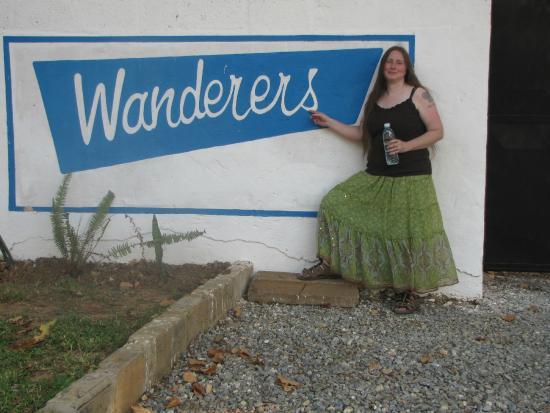 Wanderers Lodge Lusaka: Entrance Sign