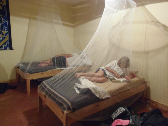 Wanderers Lodge Lusaka: Mosquito Nets