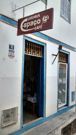 Livraria Cafe Espaco B: Fachada do café