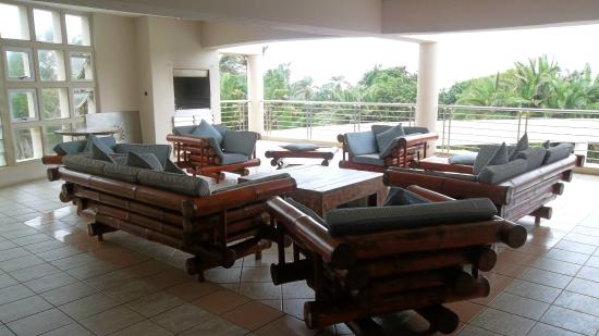 Cracker Bay B&B : Outdoor living room and Braai