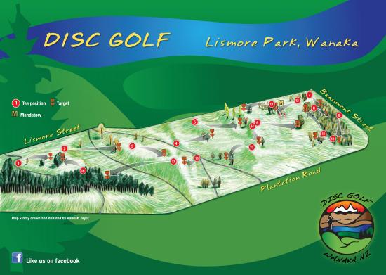 Lismore Park Disc Golf Course