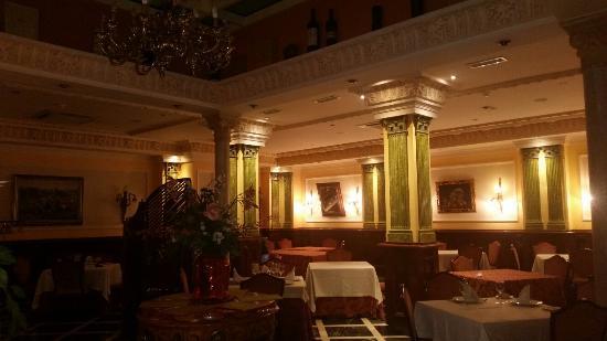 Reina Cristina Hotel: Salon..precioso