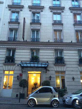 Hotel Val Girard : Outside of Hotel