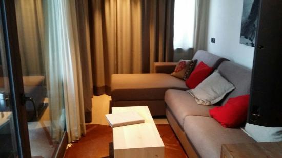 Ariston Dolomiti Residence: Foto divano
