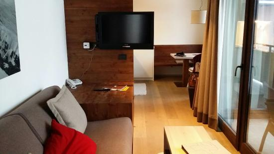 Ariston Dolomiti Residence: Foto sala