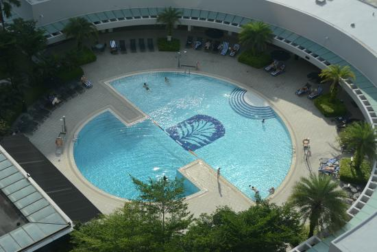 Swimming Pool 4th Floor Picture Of Pan Pacific Singapore Singapore Tripadvisor