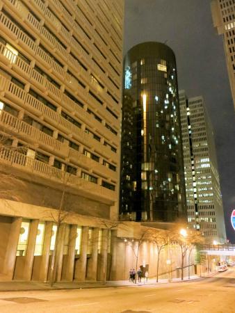 Hyatt Regency Atlanta International Tower Left Radius Right