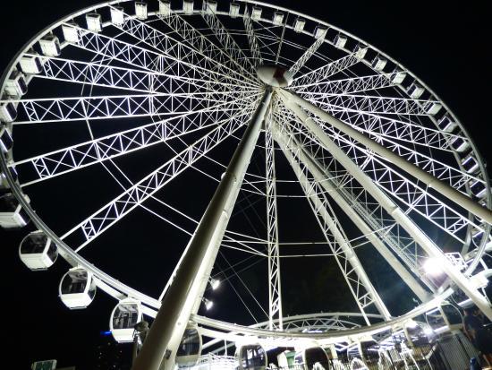 Wheel of Brisbane : la Grande Roue de Brisbane de nuit