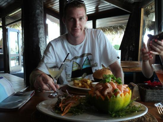 Sandals Restaurant & Barefoot Bar : lumch....