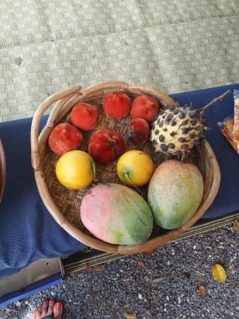 Sunday Market Port Douglas: tropical fruits sold at the market