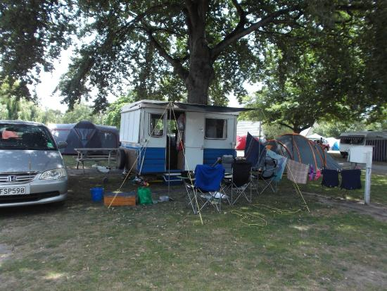 Hastings Top 10 Holiday Park: Camp site