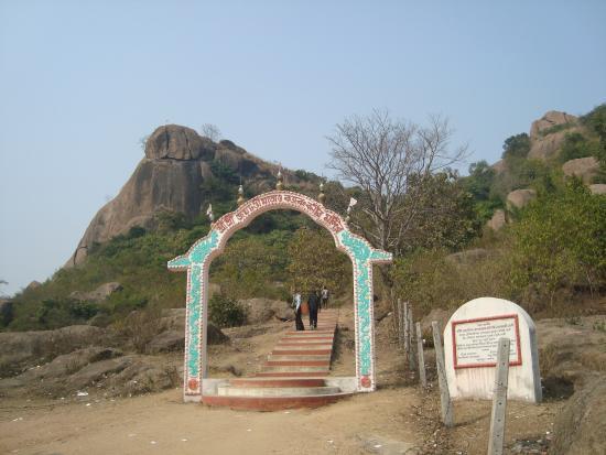 Bankura, Indien: Jaychandi Hill