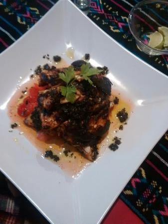 Caribbean Brisas: Blackened Grouper