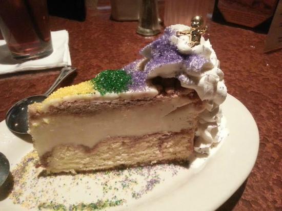 Copeland's Cheesecake Bistro: Mardi Gras King Cake Cheesecake