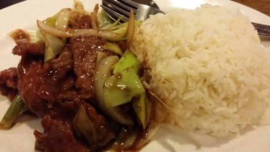 Choy's: Mongolian Lamb Rice