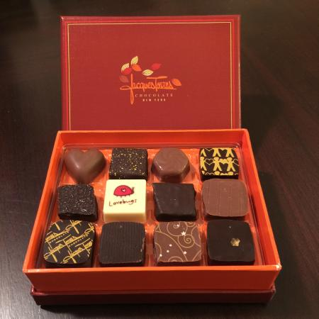 Jacques Torres Chocolate Haven : 12 piece pick your own chocolate box