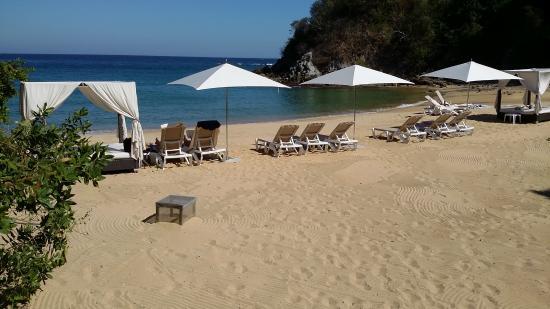 Agua Azul La Villa: the beach