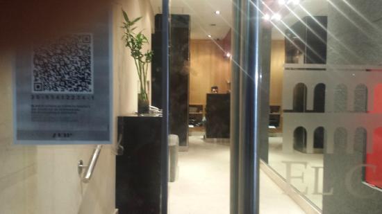 Hotel El Cabildo: Entrada