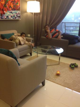 Genting View Resort: Deluxe room interior