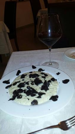 ristorante morlacchi: Risotto al taleggio e tartufo sublime