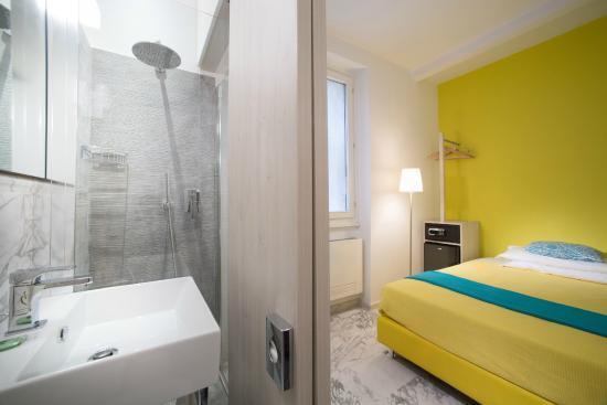 Hotel Boston: camera singola interna, con bagno privato