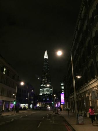 Menier Chocolate Factory: The Shard Viewed From Menier's
