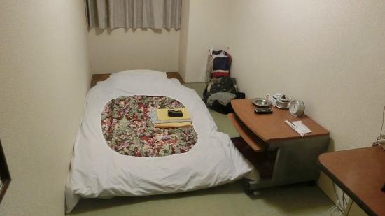 Tsukuba Hotel : 3畳一間