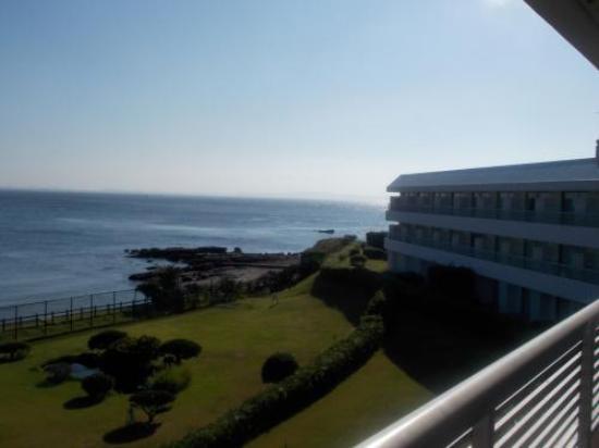 Kannonzaki Keikyu Hotel: 1階なら、窓を開けたら地面続きです