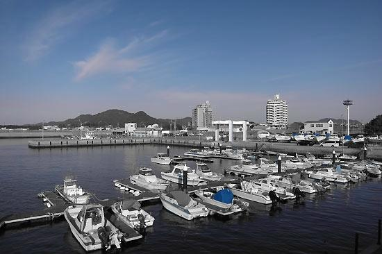 Fukutsu, Japan: 福間漁港海浜公園