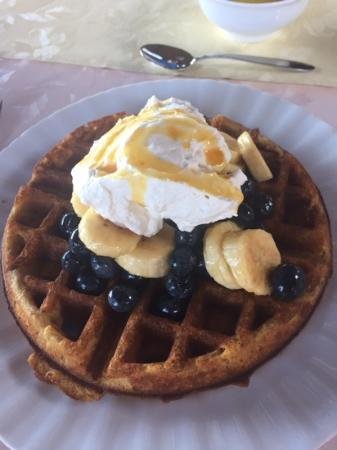 Aloha Guest House: one of Svetlana's epic breakfasts!