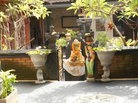 Samudra Homestay: Tempietto del SAMUDRA