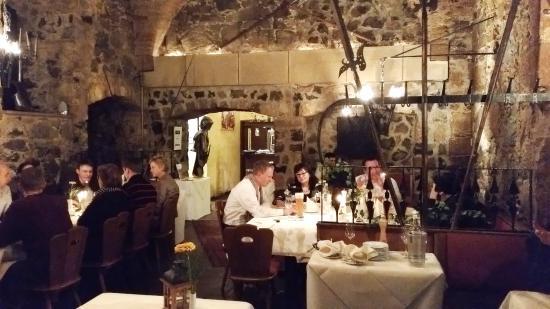 La sala da pranzo bild von hotel burg staufenberg staufenberg tripadvisor - Paul signac la sala da pranzo ...
