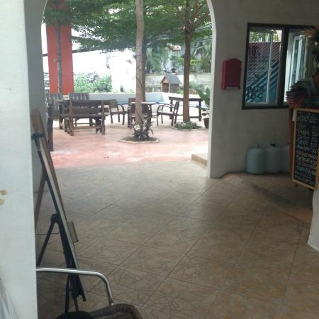 Koh Tao Toscana: This is the great security at the desk/entrance