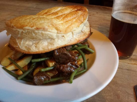 Steak And Ale Pie Picture Of Pride Of Paddington London