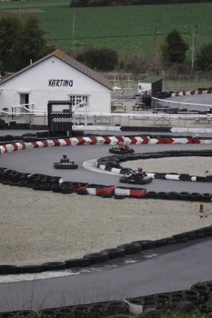 Coast 2 Coast Karting: Looking Over The Track