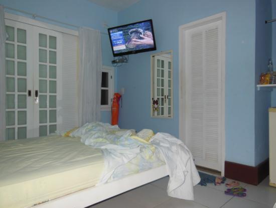 Pousada Amendoeira : Interior do quarto.