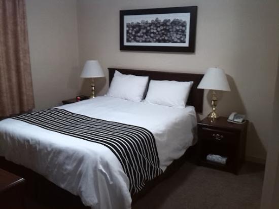 Sandman Hotel Quesnel: Nice beddings