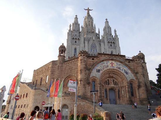Templo Del Sagrado Corazon De Jesus Barcelona Fotografía De Templo