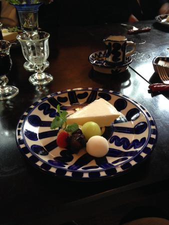 Meiji no Yakata: チーズケーキ、絶品