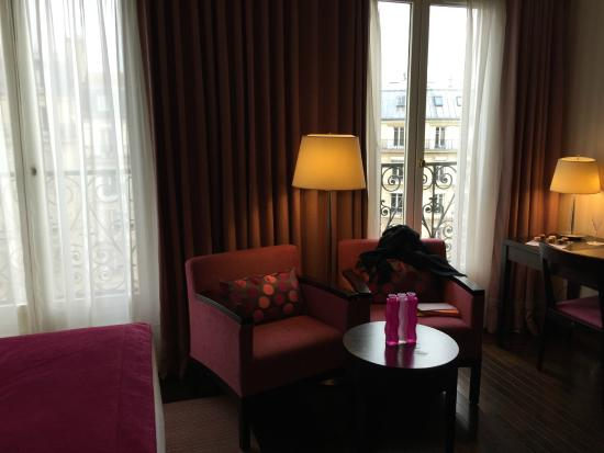 Hotel Elysees Regencia Paris: estar
