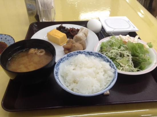 Hotel Goody Ogaki: サービスの朝食