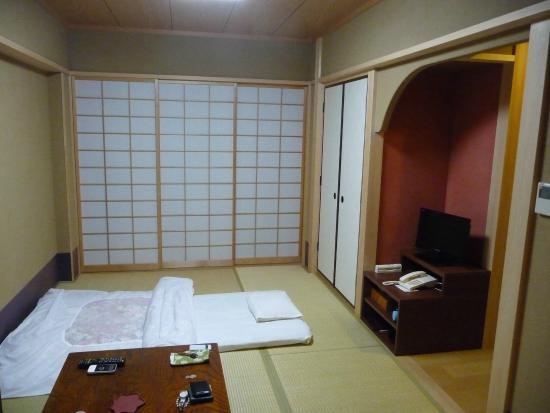 Matsumoto Ryokan: 和室です、綺麗で十分な広さが有ります。