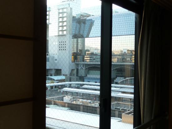Matsumoto Ryokan: 部屋から京都駅が見えます