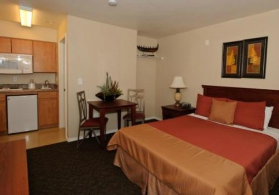 Siegel Suites Select Casa Grande: Not anywhere close to this picture on their website !