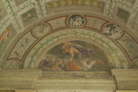 La stanza dei giganti fantastica foto di palazzo te for Stanza mantova