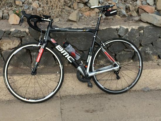 Bike Point El Medano: Mooie BMC met DI2