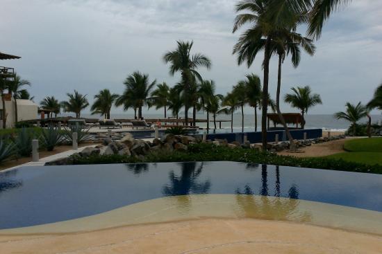 Las Palmas Beachfront Villas: From the restaurant